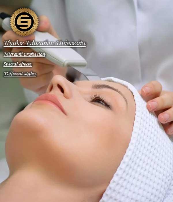 مراقبت پوست و مو اموزش مراقبت های پوست و مو اموزش خدمات پوست و مو اموزشگاه پوست و مو اکادمی عریس اموزشگاه عریس