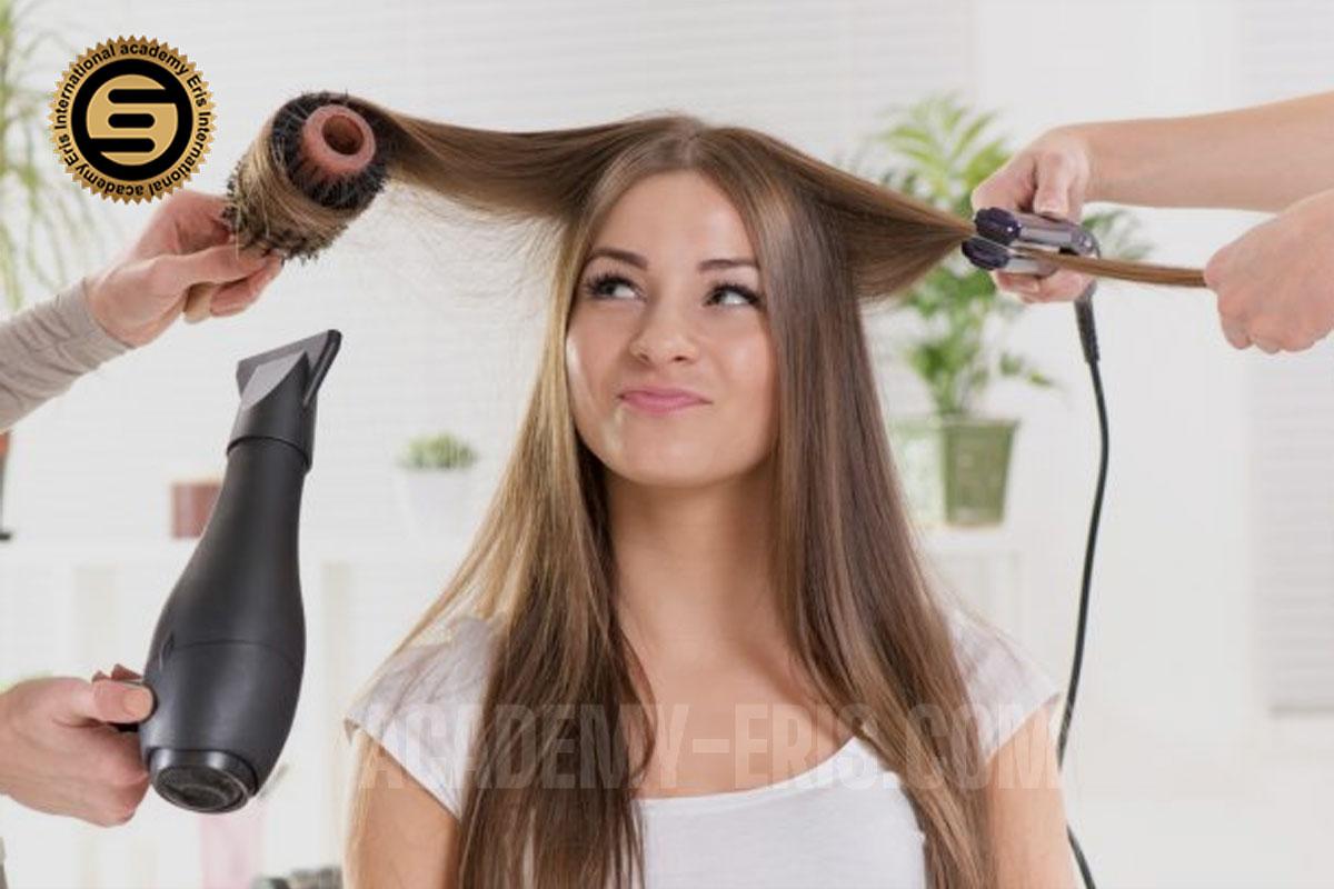 آموزش براشینگ مو