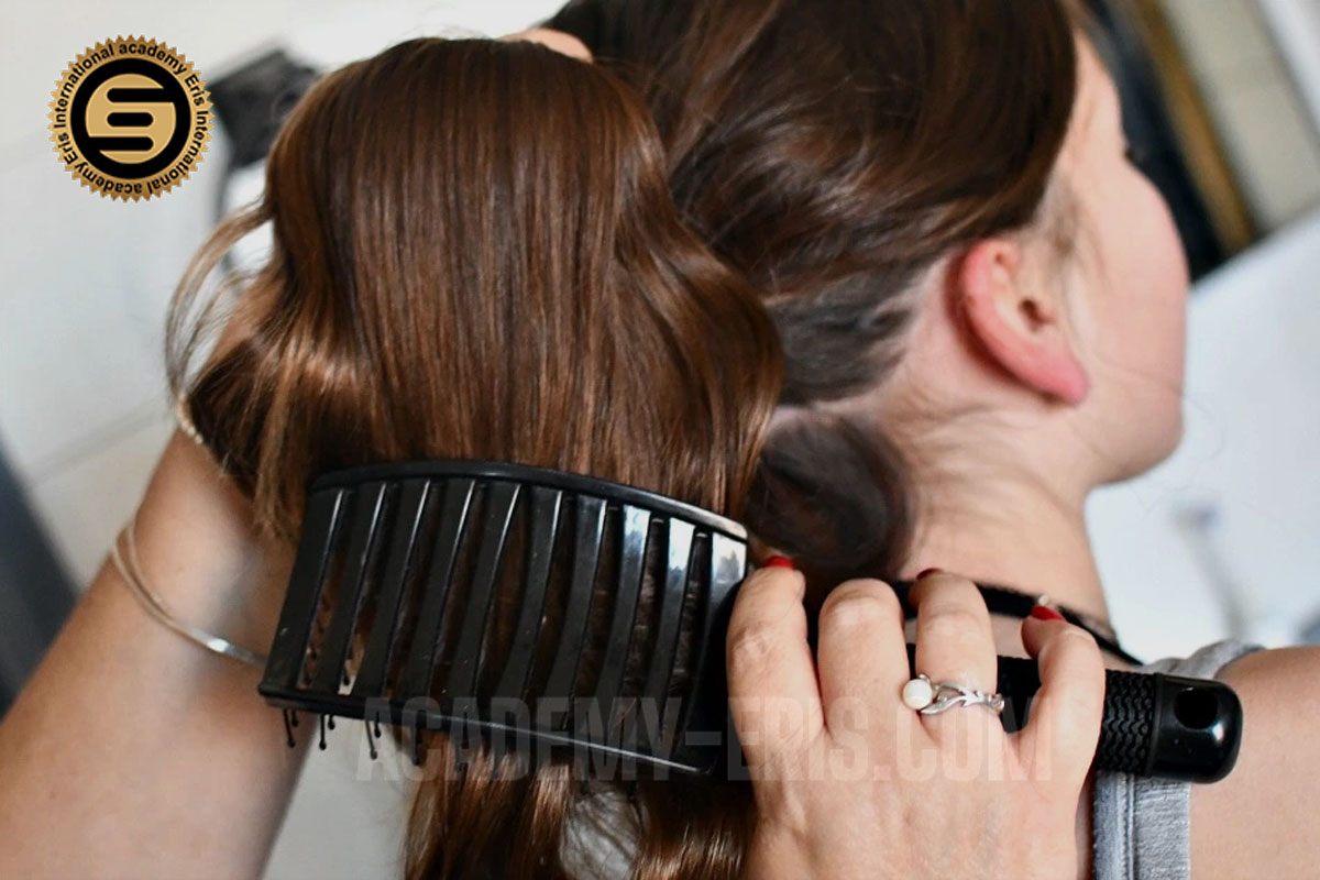 آموزش مرحله به مرحله براشینگ مو