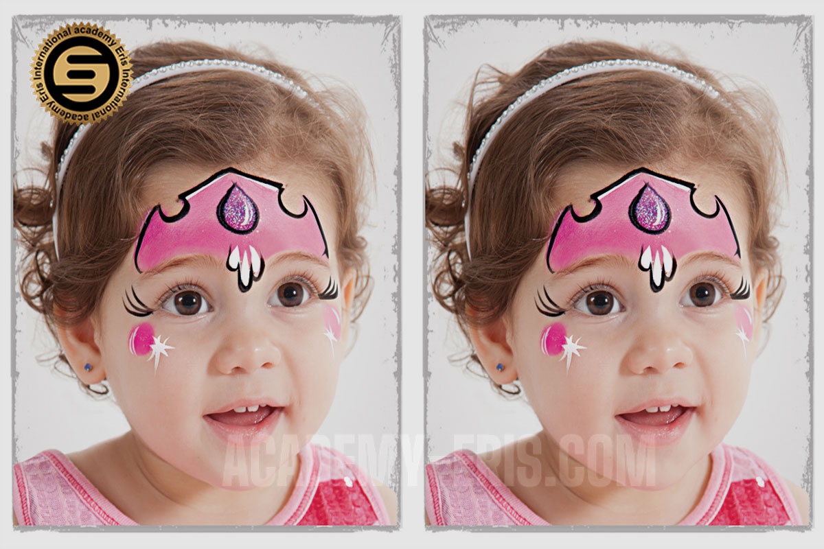 گریم کودک، انواع نقاشی روی صورت کودک