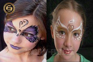 گریم کودک و انواع نقاشی روی صورت کودک