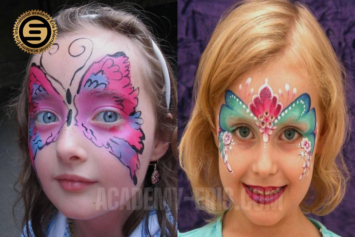 از چه رنگ هایی برای نقاشی و رنگ آمیزی روی صورت کودکان استفاده کنیم؟