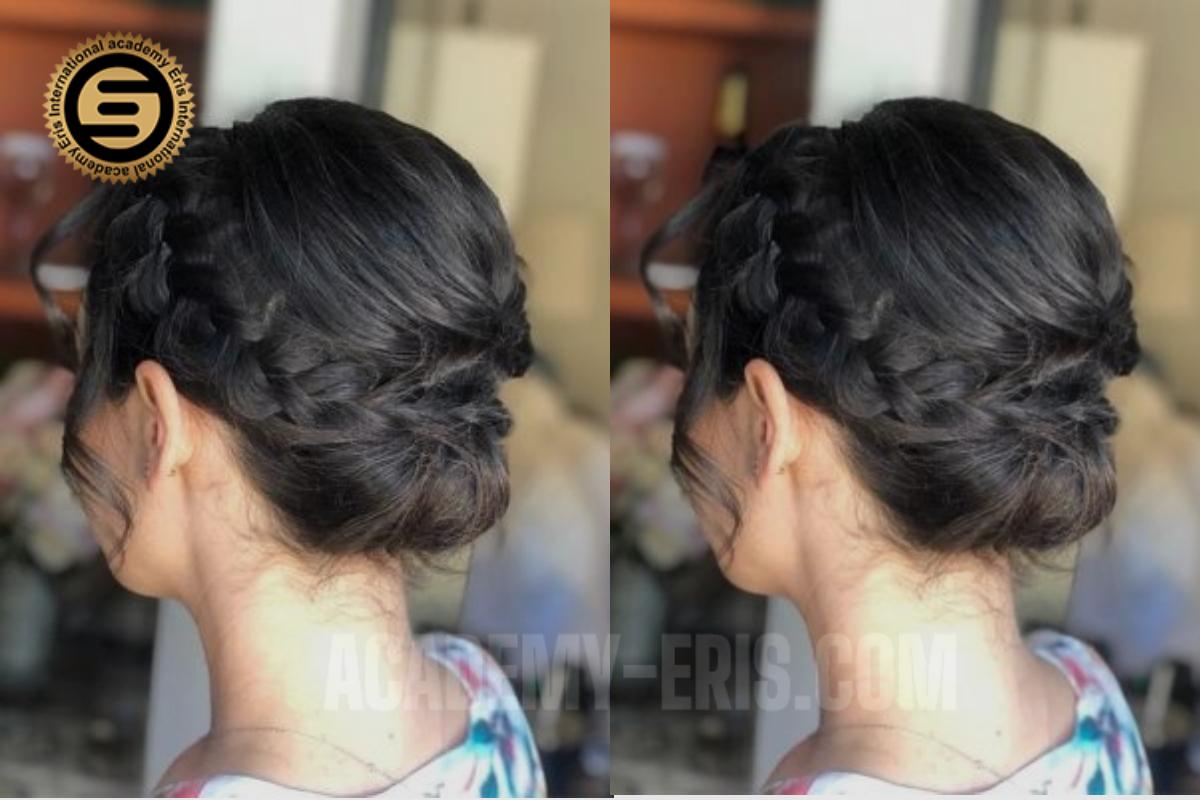 بافت مو به روش تاجی