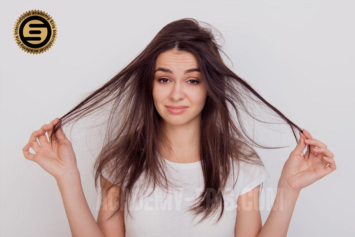 از دست دادن خاصیت ارتجاعی موها